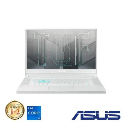 ASUS FX516PM 15吋電競筆電 (i7-11370H/RTX3060/8G+16G/512G+512G SSD/TUF Dash F15/星耀白/特仕版)