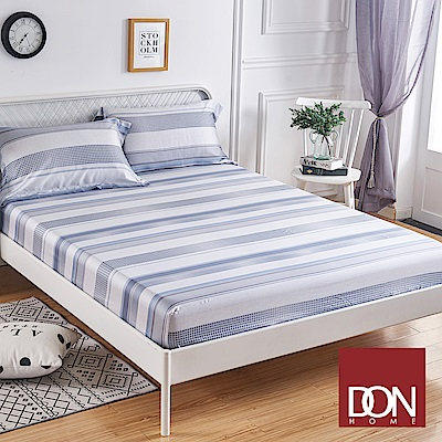DON藍諾 雙人親膚極潤天絲床包枕套三件組