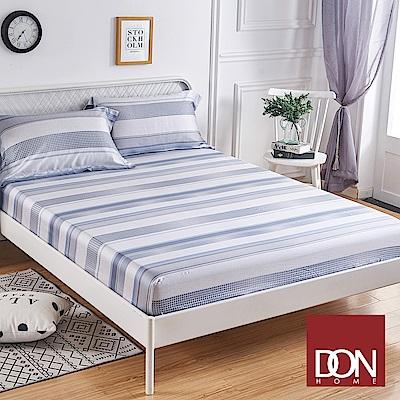 DON藍諾 加大親膚極潤天絲床包枕套三件組