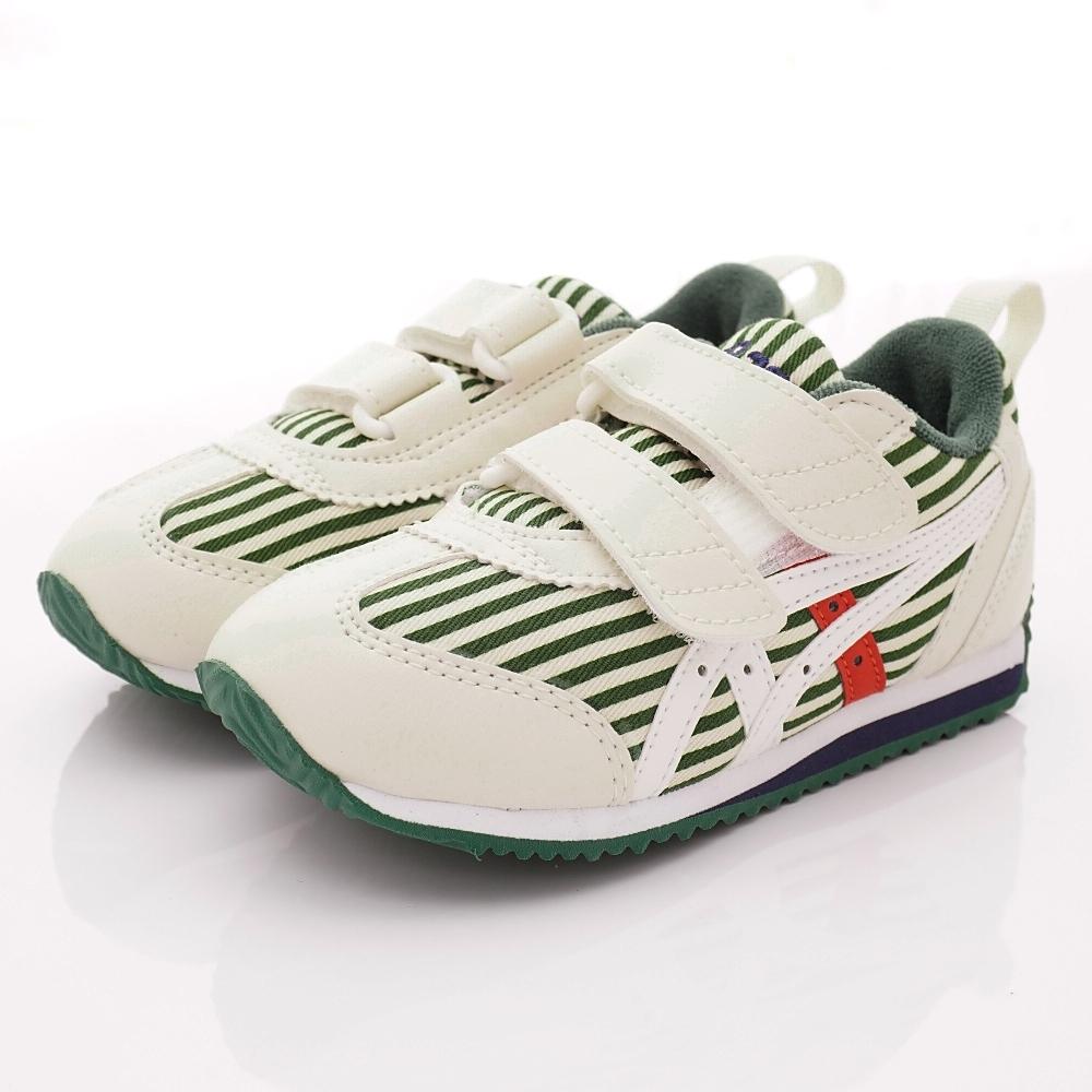 亞瑟士SUKU2機能鞋 雙絆帶機能鞋 ON87-300白綠(中小童段)