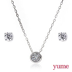 YUME - 唯一心動套組(項鍊+耳環)