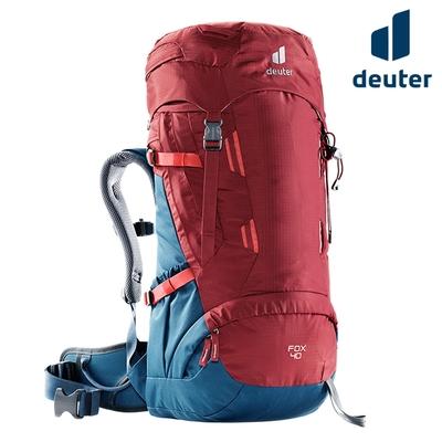 Deuter FOX 拔熱透氣背包 3611221 紅-藍/40+4L