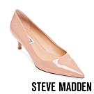STEVE MADDEN-SABRINAH 素面尖頭中跟鞋-粉色