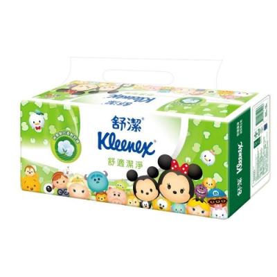 [限時搶購]舒潔 迪士尼舒適棉柔舒適抽取衛生紙100抽x12包x6串/箱Tsum