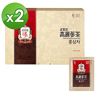 【正官庄】高麗蔘茶(100包/盒)x2盒