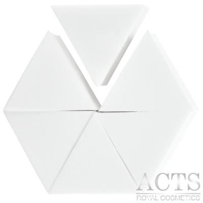【滿千8折】ACTS 維詩彩妝 高密度Q海綿 正三角形 6片入