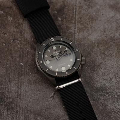SEIKO 精工 5 Sports 機械錶 (灰面) 錶帶自選顏色