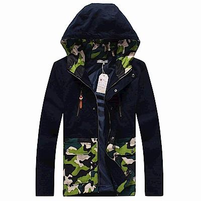 DITION 美式GO OUT防風迷彩鋪棉夾克