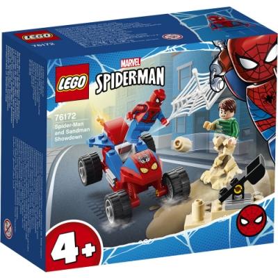 樂高LEGO 超級英雄系列 - LT76172 蜘蛛人&沙人決戰