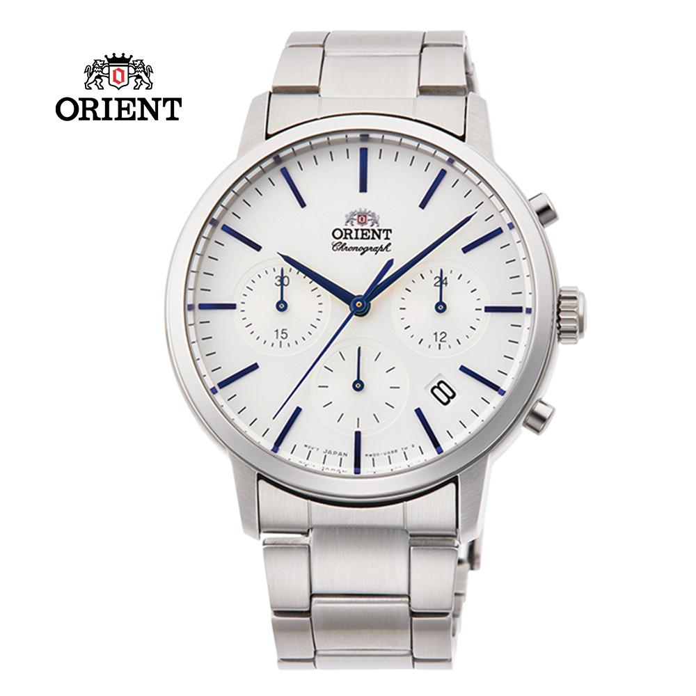 ORIENT 東方錶 Multi-eyes 運動系列 鋼帶款 白色 RA-KV0302S