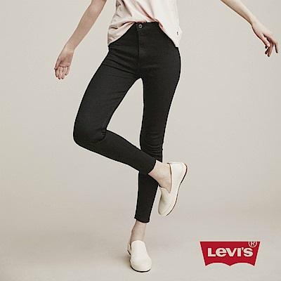 Levis 女款 720高腰超緊身窄管 超彈力牛仔長褲 彈性布料