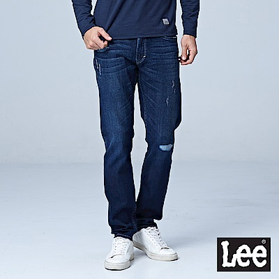 Lee 中腰標準小直筒牛仔褲/UR
