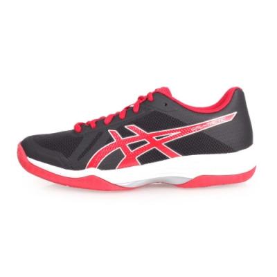 ASICS GEL-TACTIC 男排羽球鞋-羽球 排球 訓練 黑紅