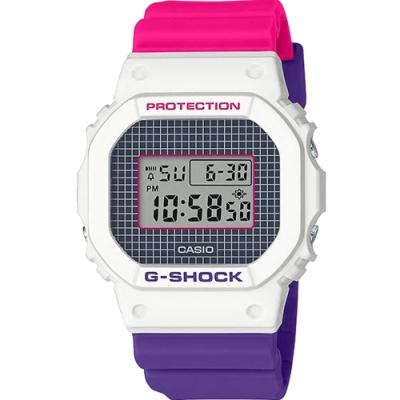 G-SHOCK  經典方塊運動錶(DW-5600THB-7)