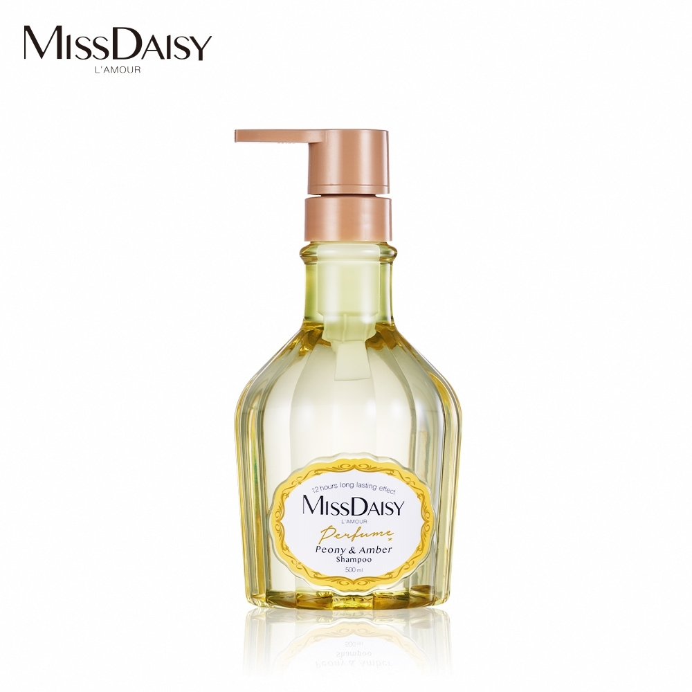 MISSDAISY 牡丹與白琥珀香氛洗髮精 500mL