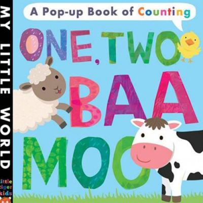My Little World:One,Two,Baa,Moo 歡樂農莊硬頁立體書