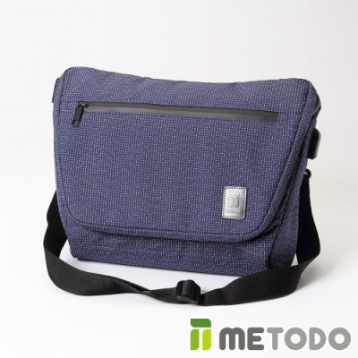 【METODO防盜包】Messenger Bag 不怕割郵差包TSL-402星空藍/耐磨防潑水/旅遊包/休閒包