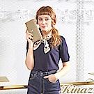 KINAZ x PEANUTS™ 花園咖啡L型拉鍊長夾-糖霜歐蕾-好日子系列