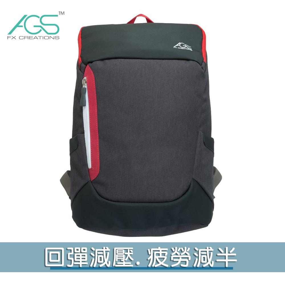 FTX-15.6吋AGS回彈減壓電腦背包-黑色 FTX69840A-01