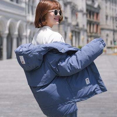 冬季寬鬆羽絨棉外套S-2XL(共六色)-WHATDAY