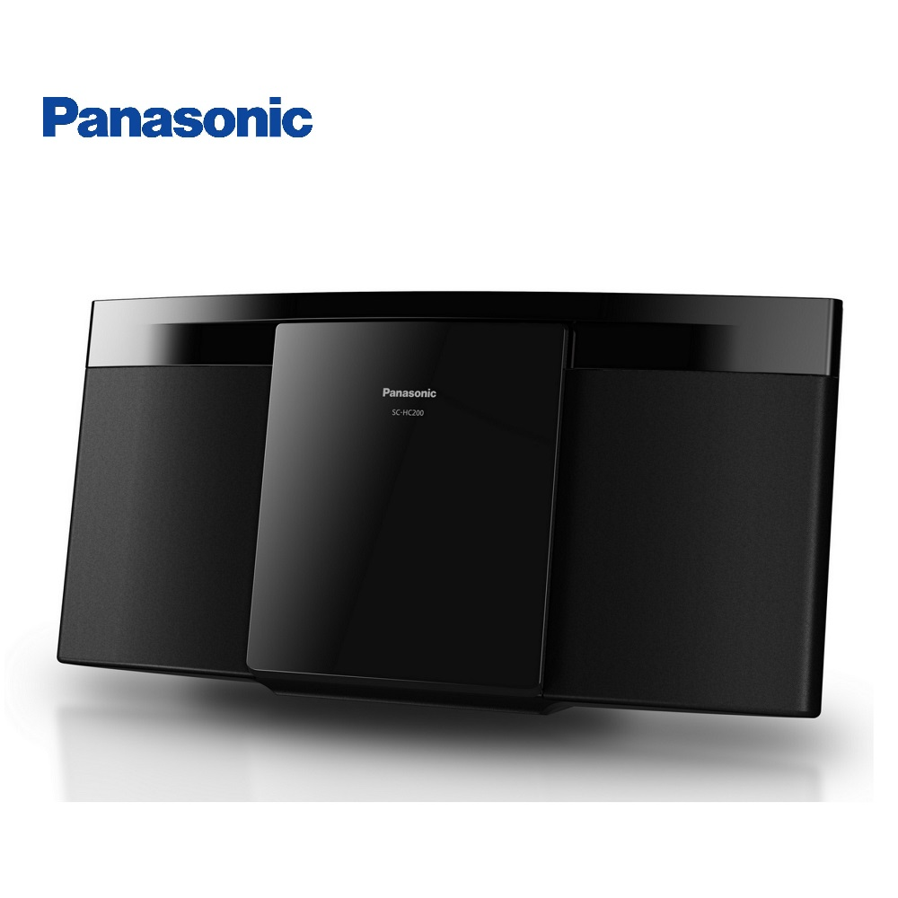 Panasonic 國際牌  薄型組合音響 SC-HC200