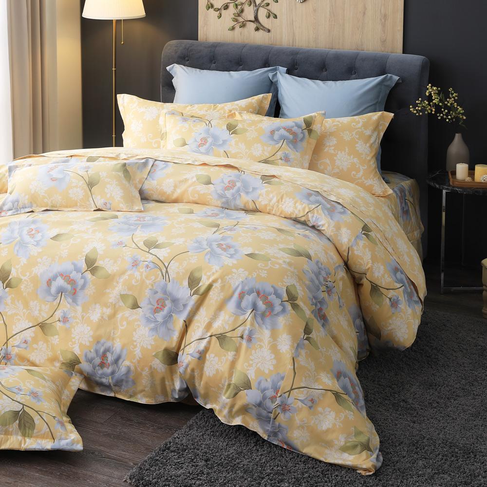 MONTAGUT-尊爵宮殿-200織紗精梳棉-鋪棉床罩組(雙人)