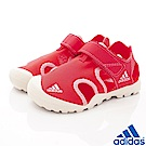 adidas童鞋 護趾超輕涼鞋款 BCZE702桃(中小童段)