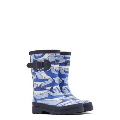 英國【Joules】深海鯊魚雨靴