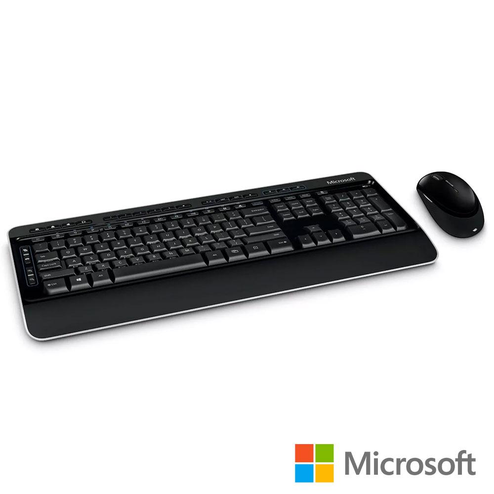 微軟 無線鍵盤滑鼠組3050 盒裝