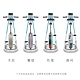 HORIZON Citta系列 BT5.0 直立式健身車 product thumbnail 1