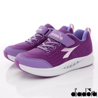 DIADORA童鞋 3E高支撐機能跑鞋款 SE927紫(中大童段)