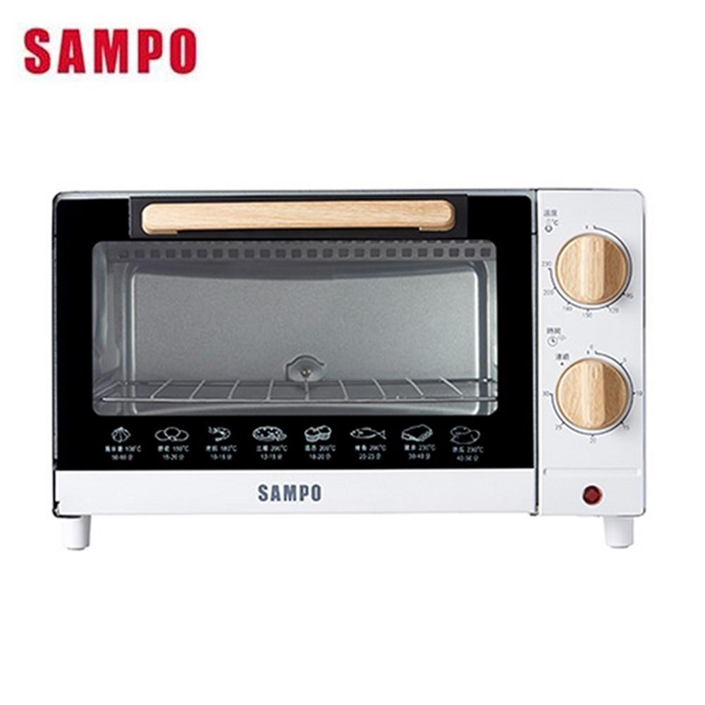 SAMPO 聲寶 - 10L溫控機械式電烤箱 KZ-CB10
