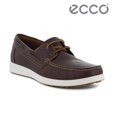 ECCO S LITE MOC M 輕巧牛津休閒皮鞋 男鞋 棕色
