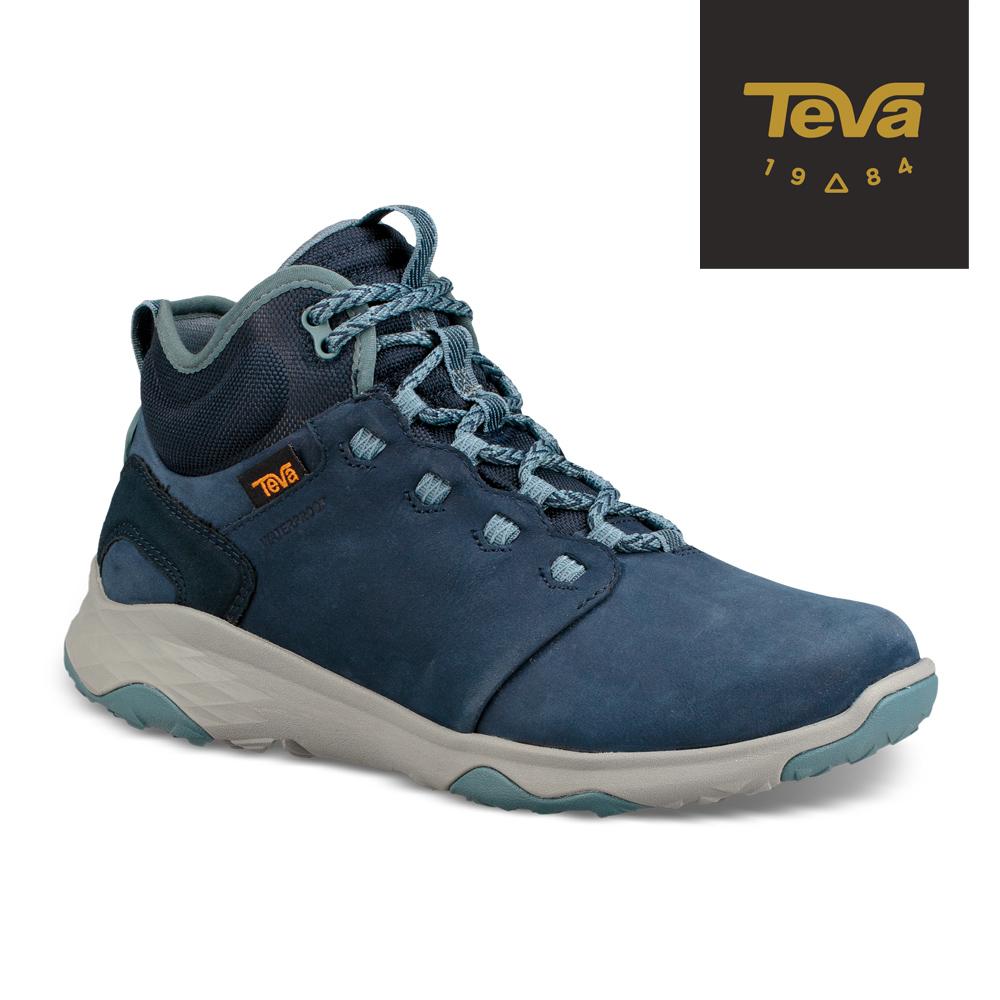 TEVA 美國-女 Arrowood 2 Mid WP 中筒防潑水休閒鞋 海軍藍