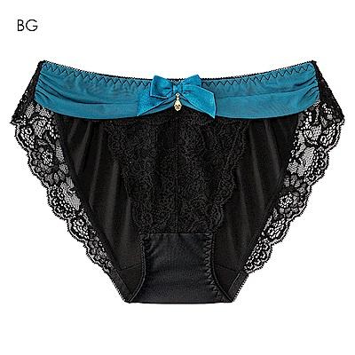 aimerfeel 透視奢華淑女內褲-藍綠色-577181-BG