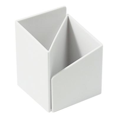 【ABEL】轉角筆筒-白