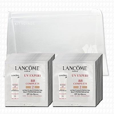 LANCOME蘭蔻 超輕盈UV BB霜1mlx24(#02自然裸膚)(贈夾鏈袋)(新款)