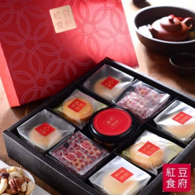 紅豆食府 喜月禮盒(9入/盒)