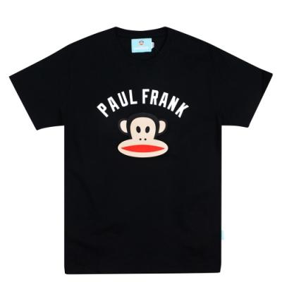 paul frank 初衷字母猴頭純棉T-黑(男版)