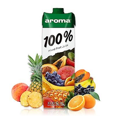 699免運土耳其AROMA綜合果汁1000ml 10種水果