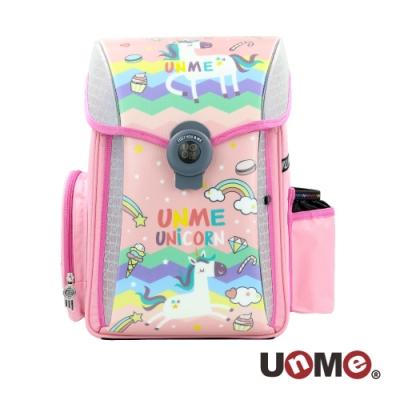 【UnMe】夢想家U型護脊減壓磁扣書包-繽紛獨角獸