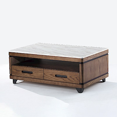 AS-珊迪胡桃大茶几-130x70x48cm