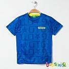 bossini男童-ZtayDry快乾圓領短袖T恤05淡藍