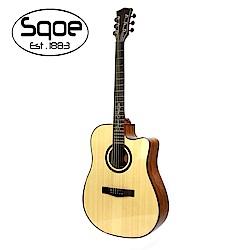 SQOE SQ-DC-SK 民謠木吉他