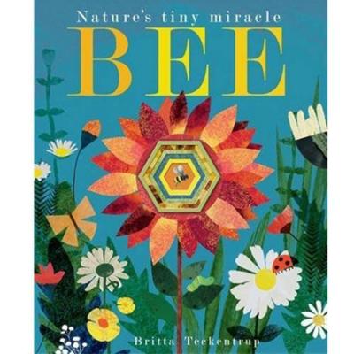 Bee:Nature s Tiny Miracle 小蜜蜂忙碌的一天疊層洞洞書