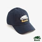 ROOTS配件   經典海狸撞色棒球帽-藍