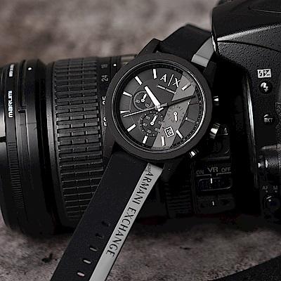 A│X Armani Exchange 休閒計時手錶-44mm  AX1331