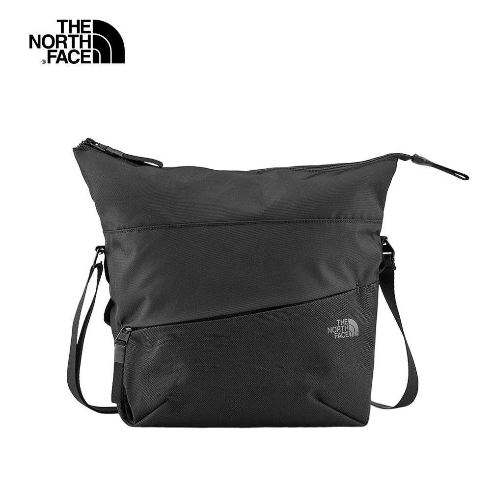 The North Face北面男女款黑色輕便休閒單肩背包 3KWYKX7