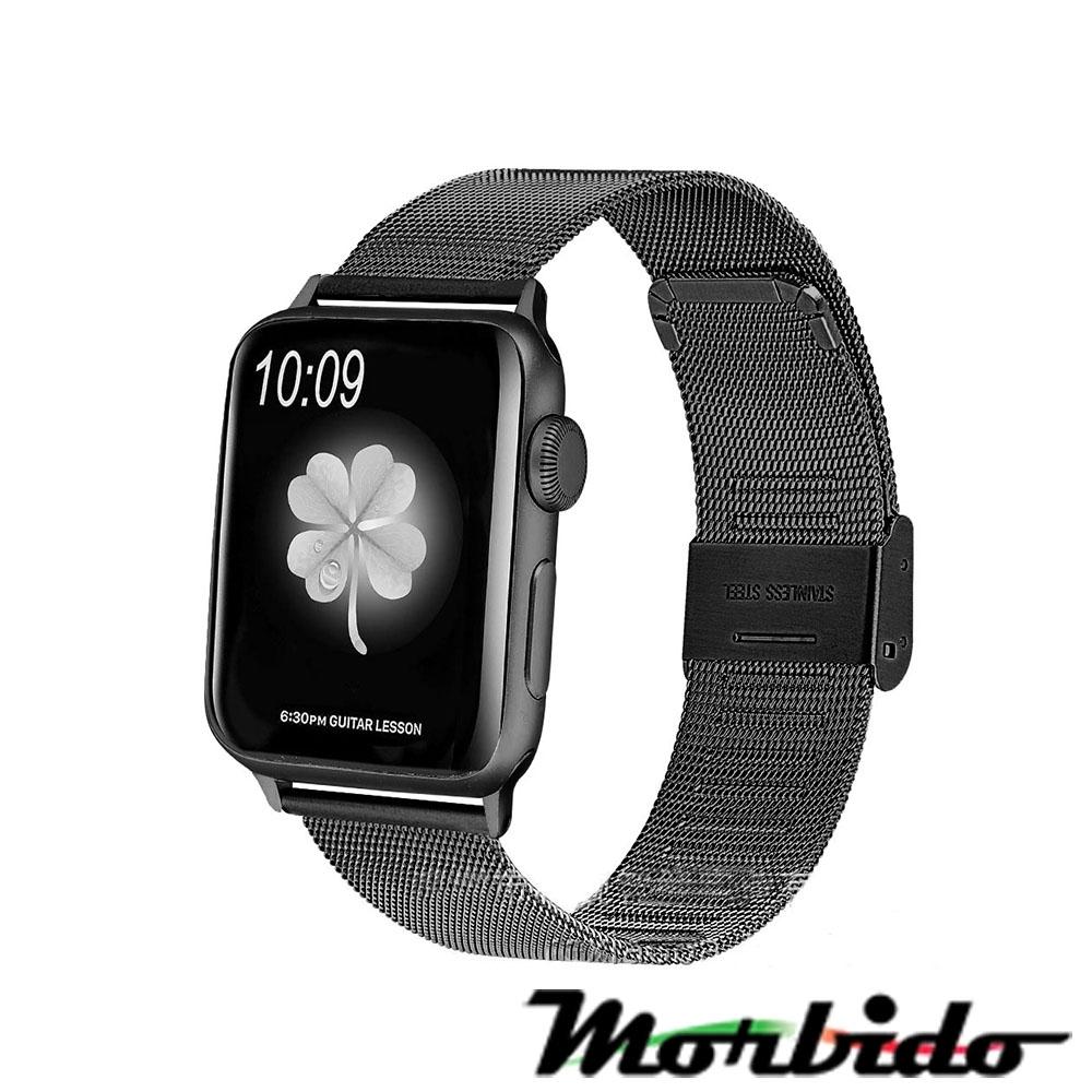 Morbido蒙彼多 Apple Watch 40mm不鏽鋼編織卡扣式錶帶 product image 1