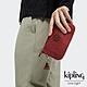 Kipling 微醺感胭脂紅三夾層配件包-CREATIVITY L product thumbnail 1